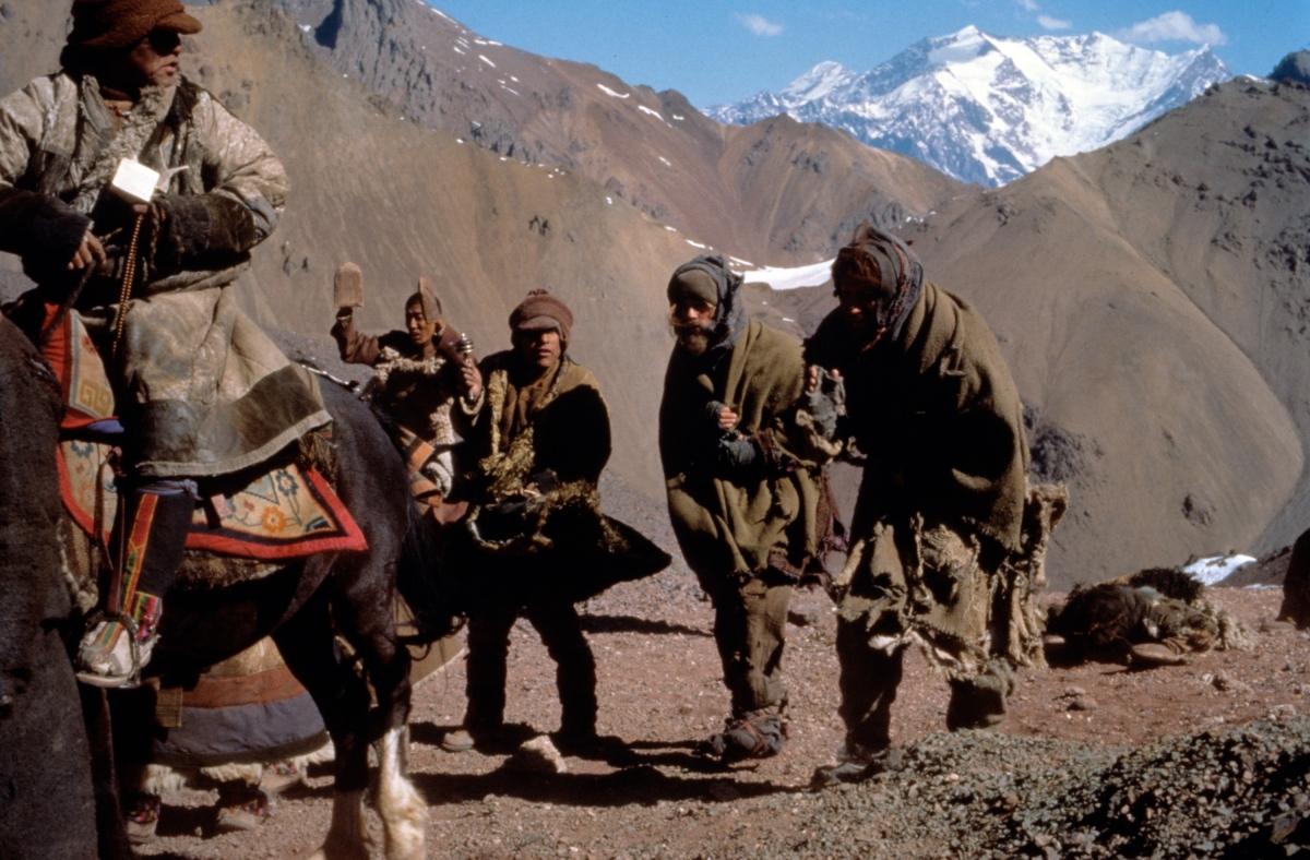 Sieben Jahre in Tibet: Wie Hollywood für das Dach der Welt wirbt