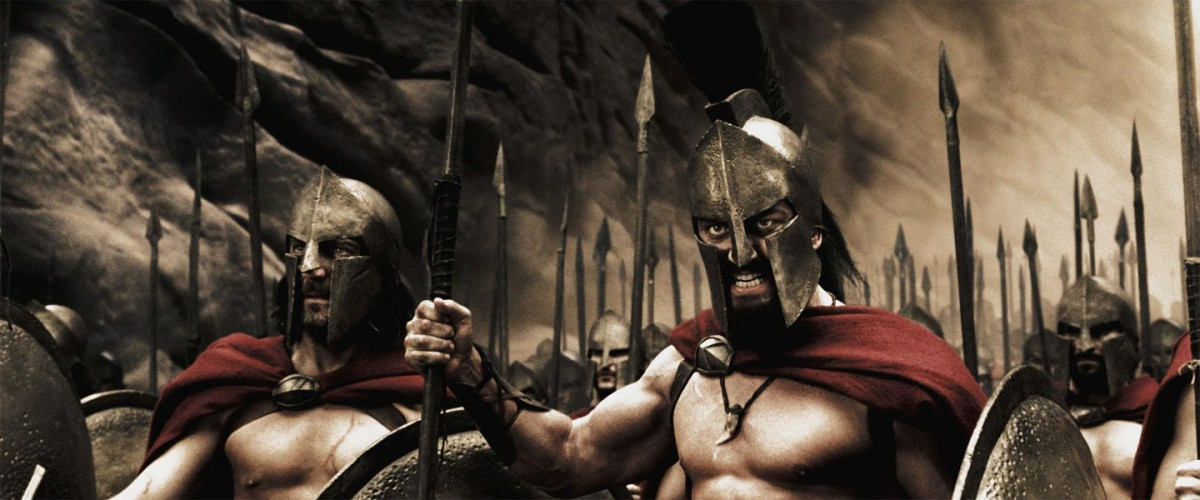 """""""300"""" Spartaner und eine Engstelle im Kallidromo-Gebirge"""